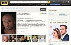 John Quinlan ~ Internet Movie Database (IMDb)