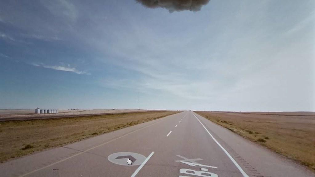 Spike on the horizon. #ridingthroughwalls #prairies