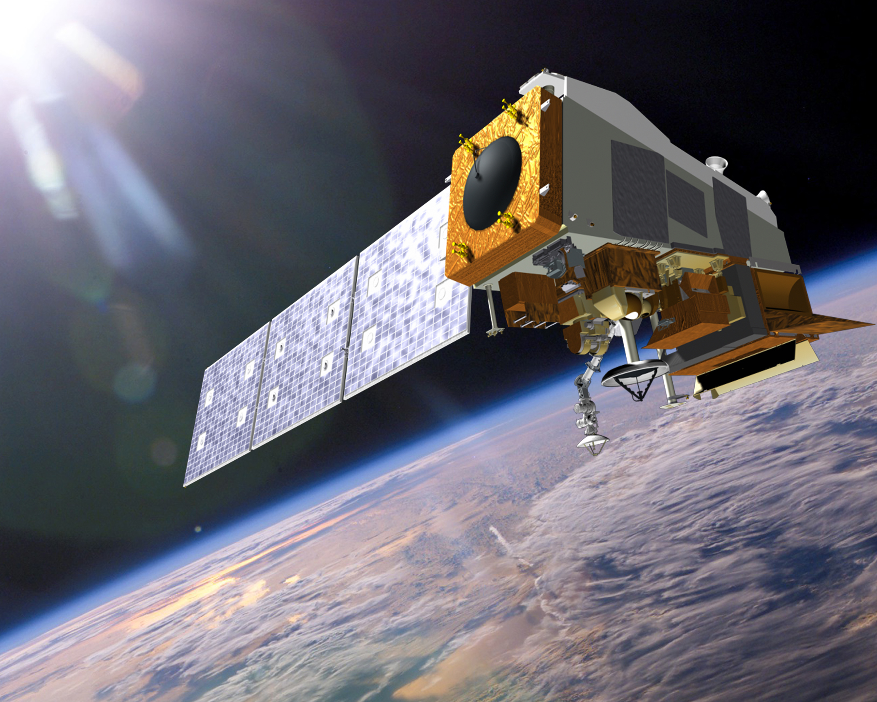 JPSS mission (Photo: Ball Aerospace)