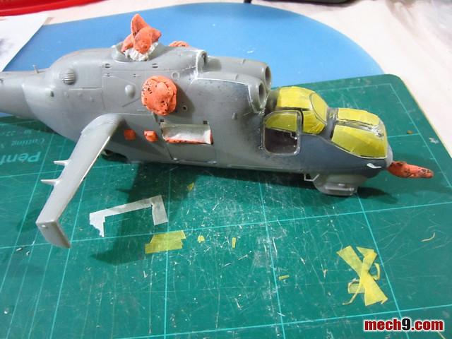 Revell 1/48 Mi-24 Hind D