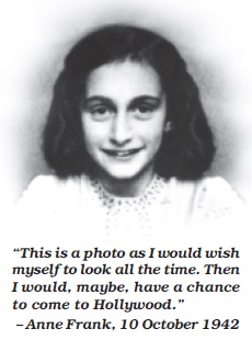 important characteristics of anne frank
