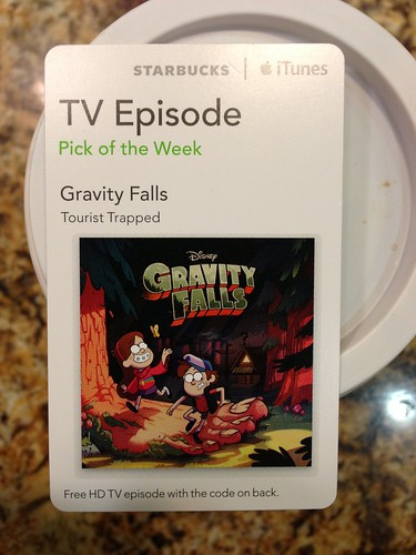 Starbucks iTunes Pick of the Week - Gravity Falls: Tourist Trapped