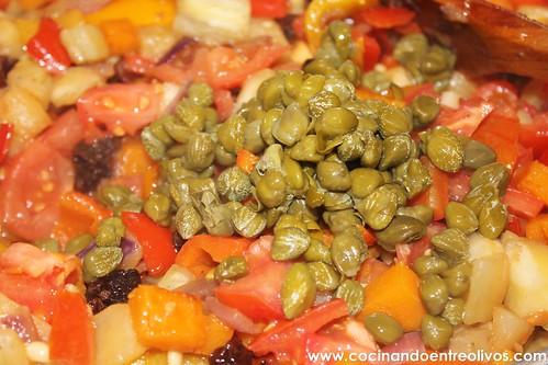 Caponata siciliana www.cocinandoentreolivos (15)