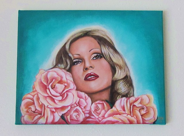 Candy Darling painting