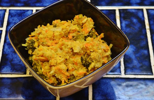 Chickpea Broccoli Casserole