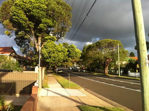 Earlwood sky