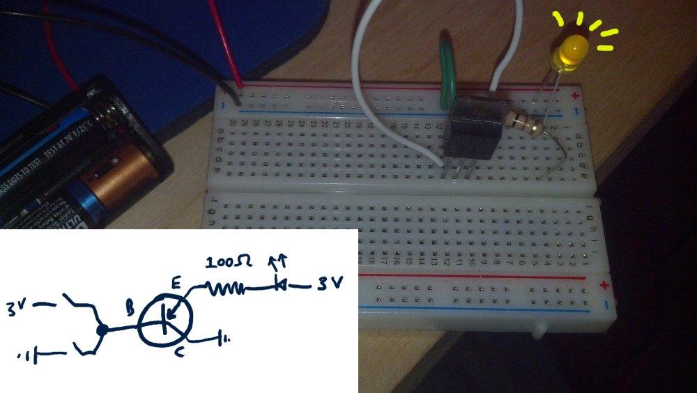 Trivial Transistor Circuit