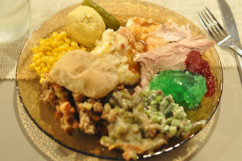 What I ate- Thanksgiving 2012 edition