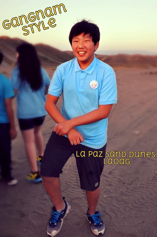 Ilocos Sandboarding Gangnam Style