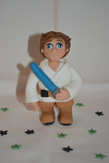 Luke Skywalker Cake topper figure decoration
