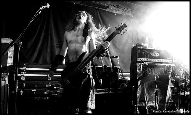 Ensiferum @ Henry's Pub (Kuopio) 17.1.2013