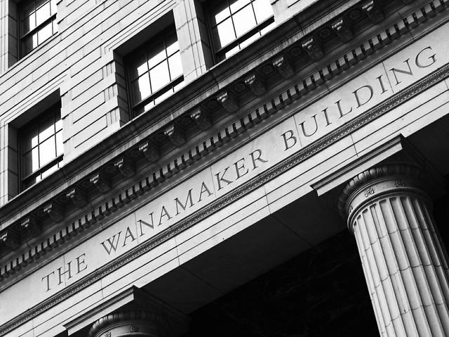 Header of Wanamaker