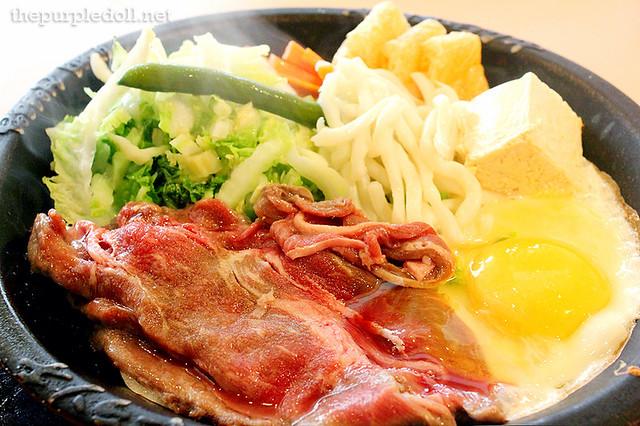 Beef Sukiyaki with Udon P460