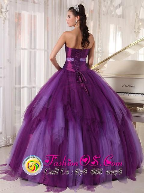 purple quincenera dresses