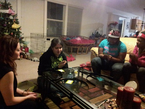 Game night with my old high school friends :D