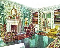 Living Room in Summer