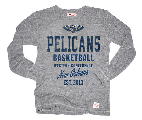 NEW ORLEANS PELICANS APPAREL - Long sleeve shirt