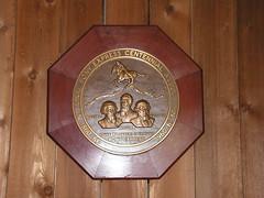 Plaque Memorializing Centennial of the Pony Express