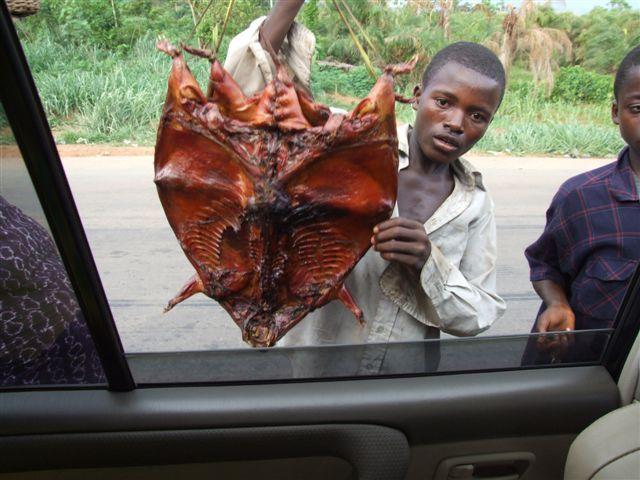 Roadside vendors, Ghana