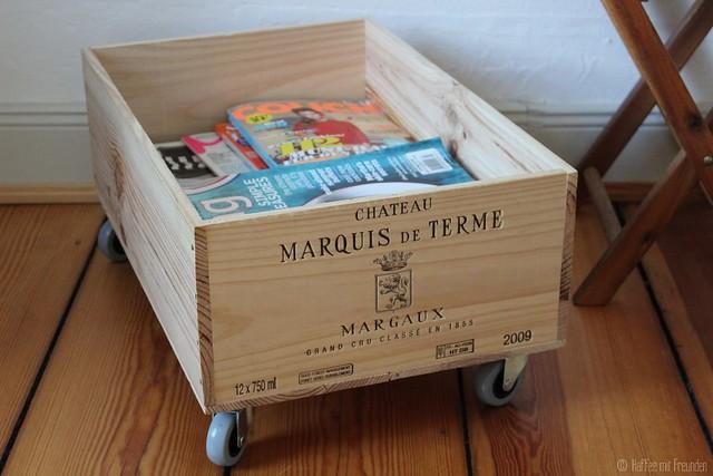 DIY: Zeitschriftenbox