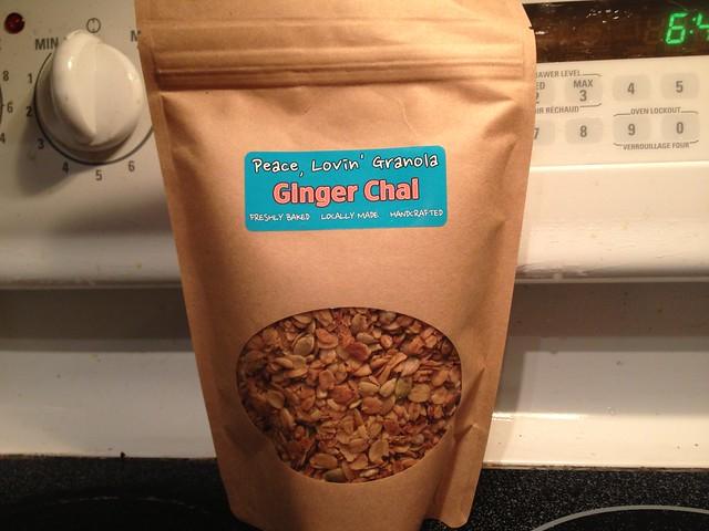 Ginger Chai Granola