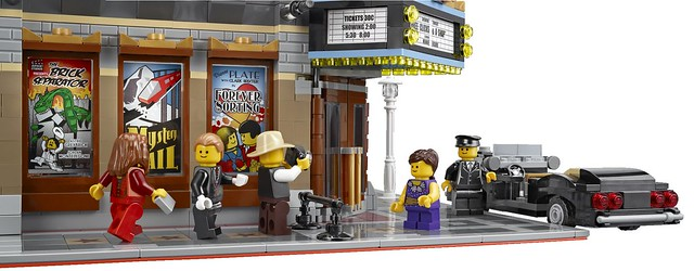 LEGO Creator Expert 10232 - Palace Cinema -Detail 12
