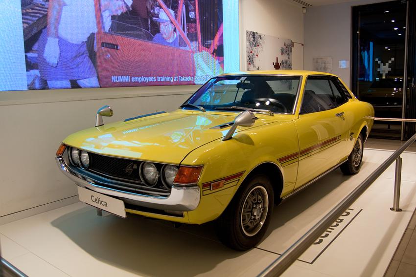 1973–75 Toyota Celica (I) 1600 GT Coupe (TA22)