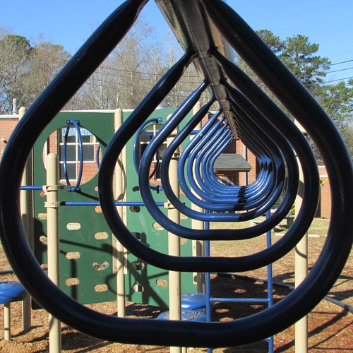 Cary Woods Elementary School playgorund