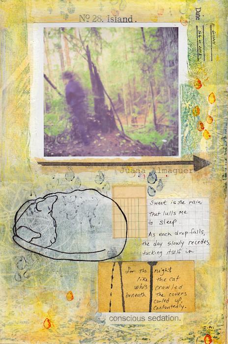 rain journal page