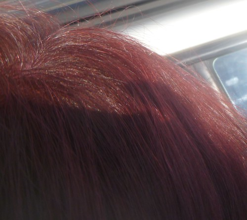 My new color in sunlight