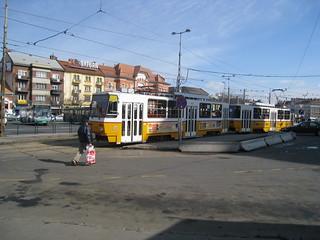 tram 4056 at terminus