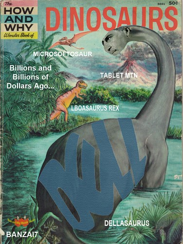 WONDER BOOK OF DINOSAURS by Colonel Flick/WilliamBanzai7