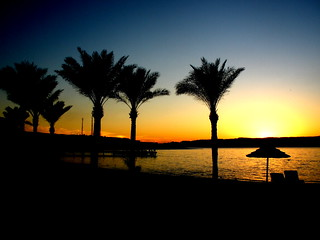 Aqaba, Jordan - Looking out over the Red Sea