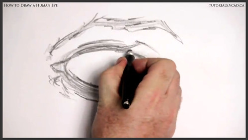 learn how to draw a human eye 005