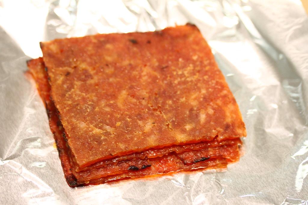 The Ultimate Bak Kwa Taste Test: New Peng Hiang (sliced pork)