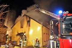 Gebäudebrand Oestrich-Winkel 07.02.13