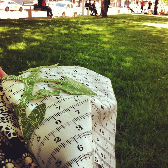 Lunchtime crafting in the park - Thursday