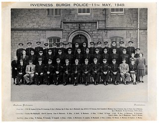 Inverness Burgh Police 11th May 1949