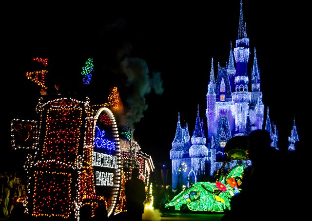 disney world - electric parade