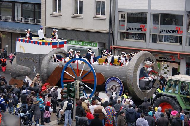 Aachener Rosenmontagszug 2013
