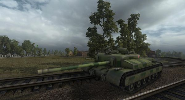 Тест World of Tanks 0.8.4