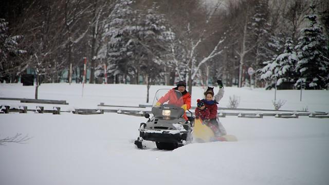 Photo:Fun snow activities! By MIKI Yoshihito. (#mikiyoshihito)