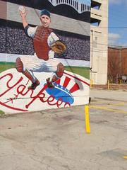 Wall Mural---Yogi Berra--Birmingham, Al.