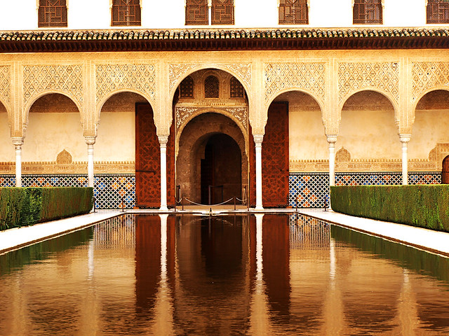 Court of the Myrtles, the Alhambra