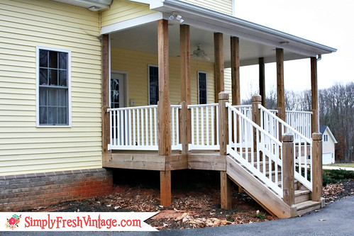 Side Porch ...Simply Fresh Vintage