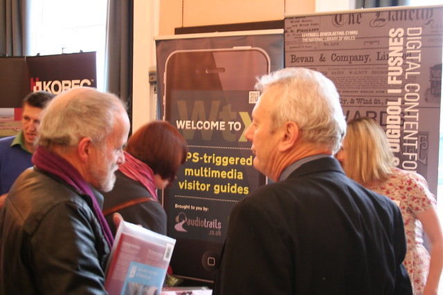 Audio Trails were presenting and exhibiting at Digital Past 2013