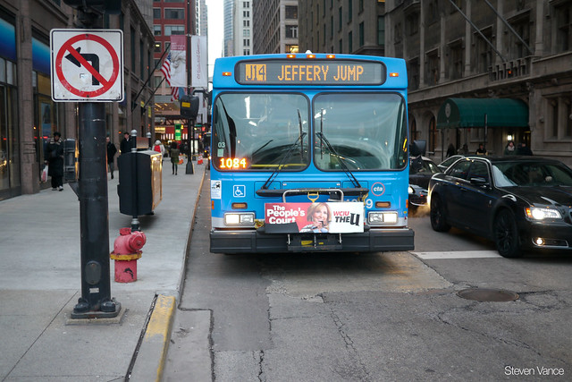 11,000 people ride the J14 Jeffery Jump each weekday