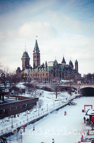 Parliament on ice