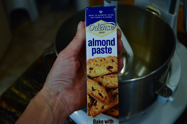 A box of Almond Paste.