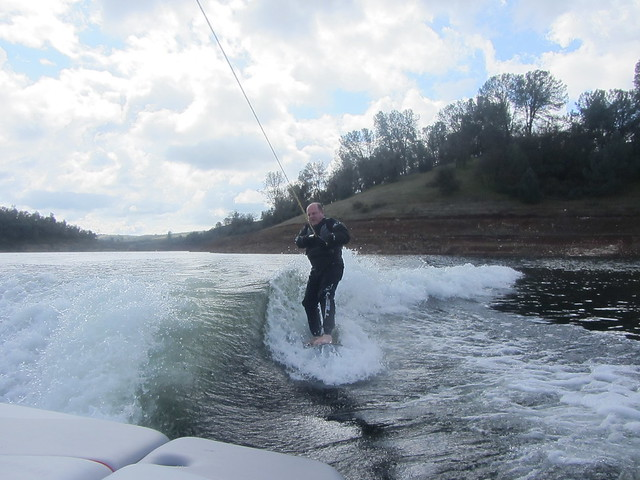 wakesurfing late February 011